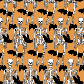 Skeletons and Bats