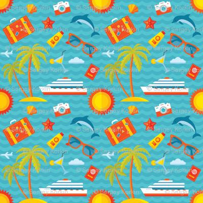 Summer Vacation Sea Cruise
