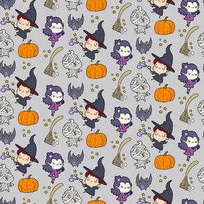 Halloween Little Witch Friends