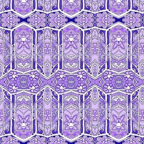Jagged Purple Geometry