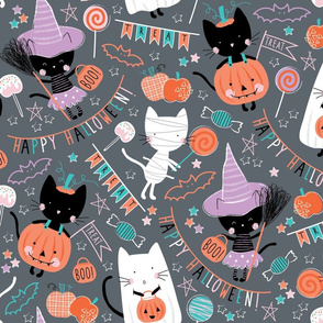 Trick or Treat Kitties