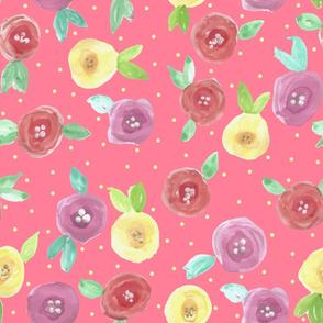 Poppy Flowers (salmon)