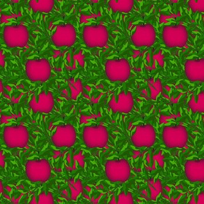 Red apples treasure