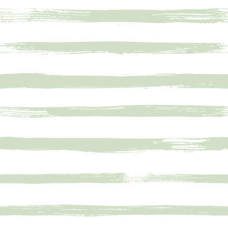 Sage and White Stripes fabric by hipkiddesigns on Spoonflower - custom fabric