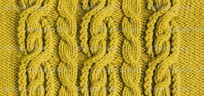 Cabled Knit - Harvest