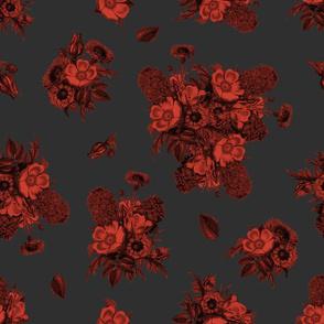 Vintage Bouquet - Blood Red