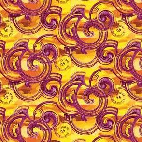 Raspberry Dream on Saffron