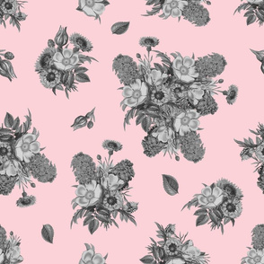 Vintage Bouquet - Millenial Pink