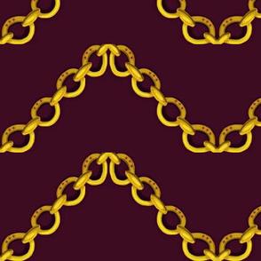 Chain Charm / gold