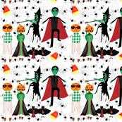 Vintage Halloween Masquerade Party