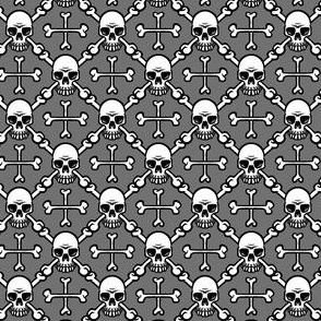 Tiny Skull and Crossbones