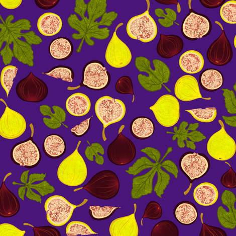 Figs 2 fabric by jadegordon on Spoonflower - custom fabric