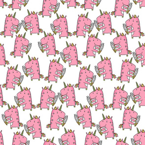 unicorn icecream pattern
