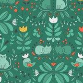 Rswedish_folk_art_cats_green_shop_thumb