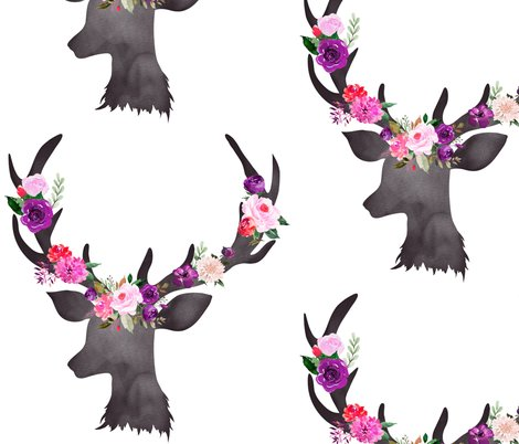 Rdeer_head_floral_bright_shop_preview