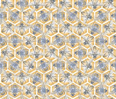 Pointilliste Bees