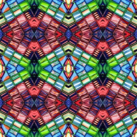 Refractions 2 fabric by chinaberries_studio on Spoonflower - custom fabric
