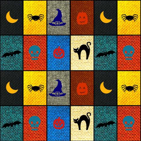 Halloween Blanket fabric by lbehrendtdesigns on Spoonflower - custom fabric
