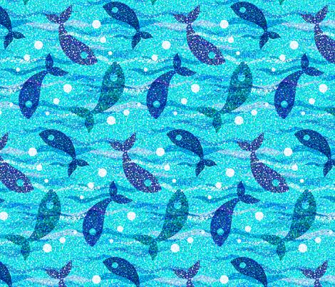 A drop in the ocean fabric by katybobsyouraunty on Spoonflower - custom fabric