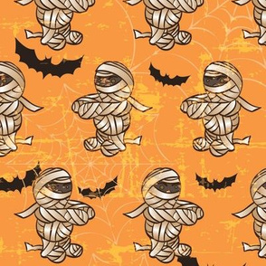 spooky scary mummy