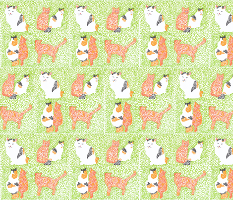 Belle_and_the_Prince fabric by silmaja on Spoonflower - custom fabric