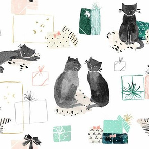 cat_presents_vintage