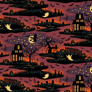 Magical Halloween Night - Medium Scale