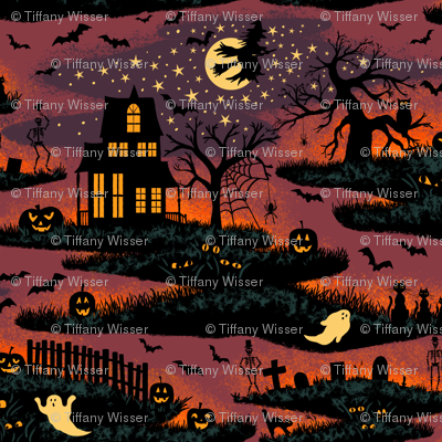 Magical Halloween Night - Small Scale