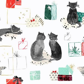 cat_christmas_presents