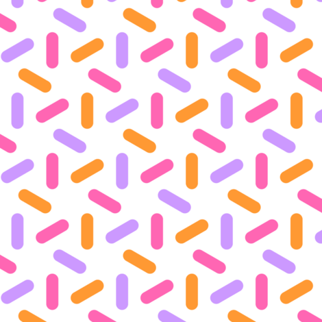 06764307 : R6 pill 3 : sherbet fabric by sef on Spoonflower - custom fabric