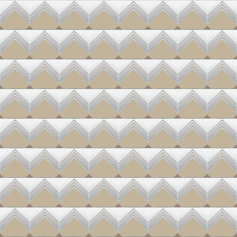 Geometric Pyramids fabric by fabrique_dubois on Spoonflower - custom fabric