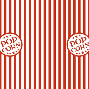 "custom Pop Corn - 5"" logos on 14x18 panels"