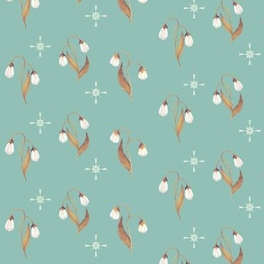 Lily in Toffee & Robins Egg Blue