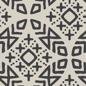 modern moroccan (beige/charcoal)