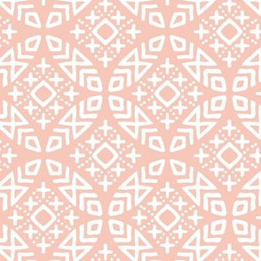 (small scale) modern moroccan in salmon peach