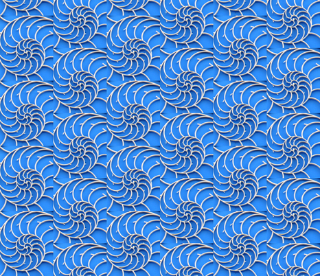 Nautilus fabric by erferrara on Spoonflower - custom fabric