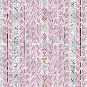 African Weave magenta