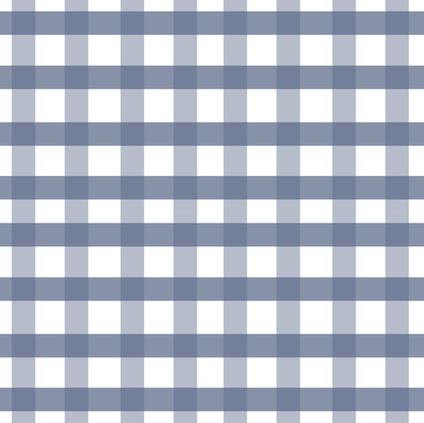 Country Checks In Blue fabric by susan_magdangal on Spoonflower - custom fabric