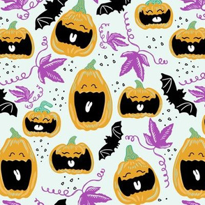 Laughing Pumpkins Purple