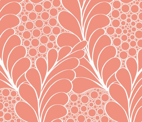 Feathers_and_pebbles_white_on_salmon_shop_preview
