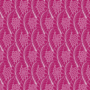 Feathers_and_Pebbles_Magenta_on_White
