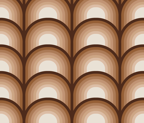 Arches // Dune fabric by circa78designs on Spoonflower - custom fabric