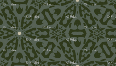 Ornate Polka - M+M Stone by Friztin