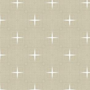 Quasi Linen Stars - M+M Latte by Friztin