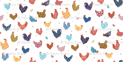 Year of the Rooster - Roosters