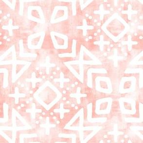 modern moroccan on rose