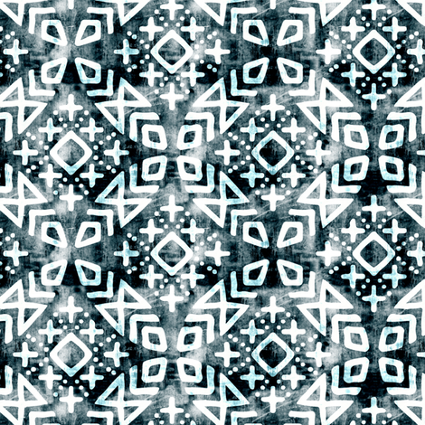 (small scale)  modern moroccan OG fabric by littlearrowdesign on Spoonflower - custom fabric