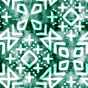 modern moroccan on emerald