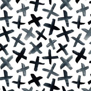 Messy Cross Pattern