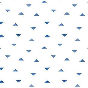 Minimal Watercolor Triangle Pattern